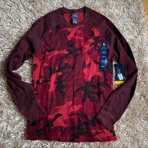 NWT Ralph Lauren Polo Camo long sleeve T-shirt